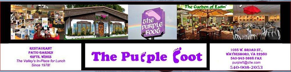 Dine In Restaurant Waynesboro, VA - The Purple Foot