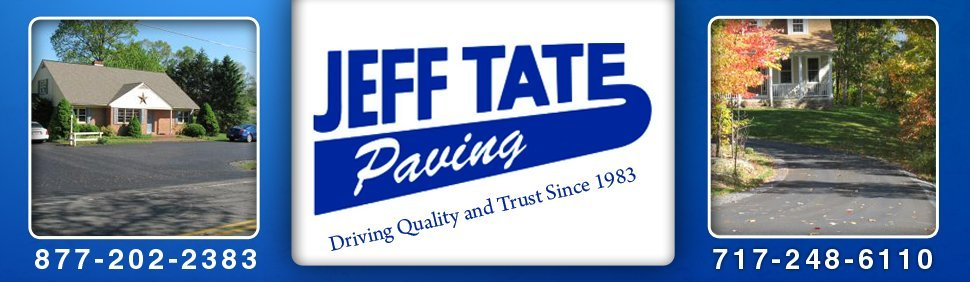 Jeff Tate Paving Inc. - Asphalt Contractor - Yeagertown, PA