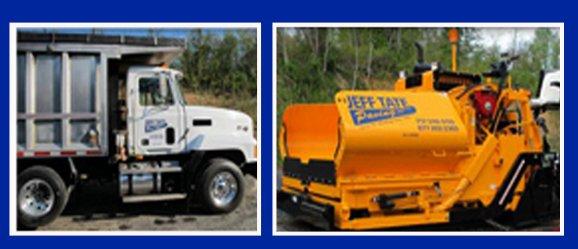 Jeff Tate Paving Inc. - Yeagertown, PA - Hauling Service