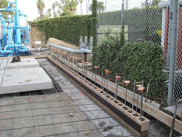 MTA Div 5 Rebar setup