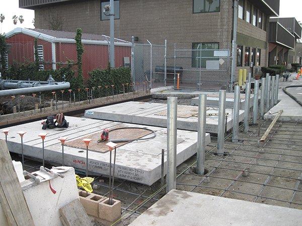MTA Div 5 Setup prior to pour