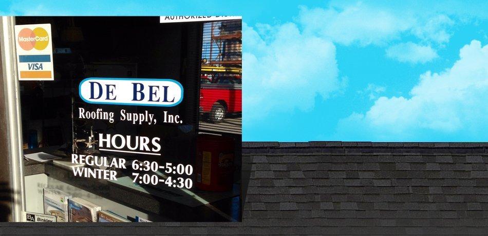 Contact De Bel Roofing Supply