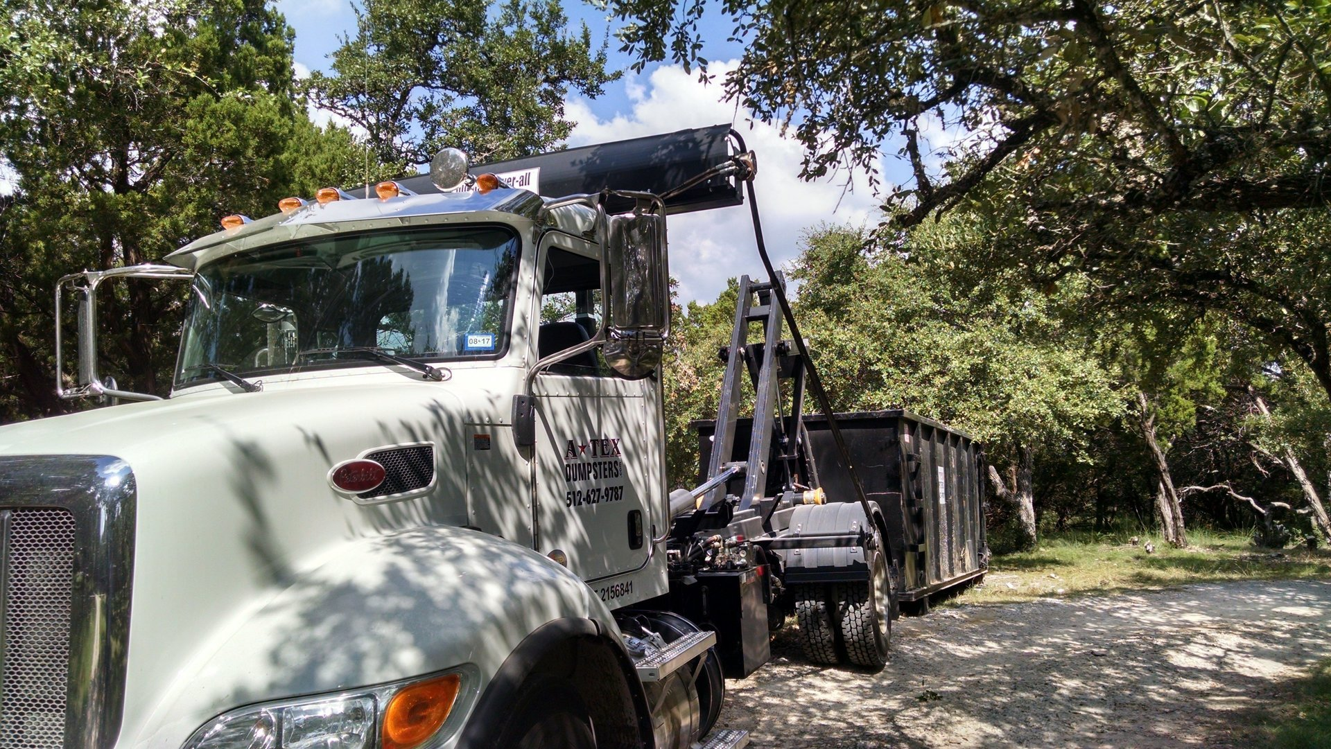 dumpster rentals for homes in Austin, TX