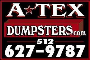 A-Tex Dumpsters logo