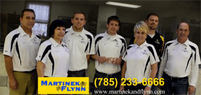 Martinek and Flynn Staff
