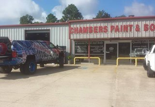 Chambers Paint and Body | Auto Body | Ben Wheeler, TX