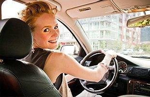 Woman with car | Santa Clarita, CA | Canyon Radiator Auto Repair | 661-251-0667