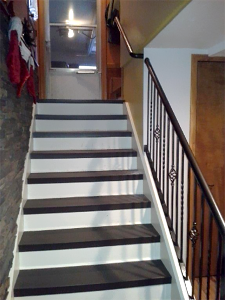 Stair case handle
