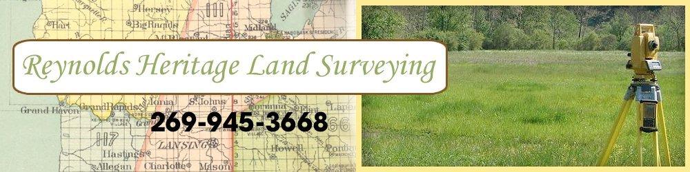 Land Surveying Hastings, MI - Reynolds Heritage Land Surveying