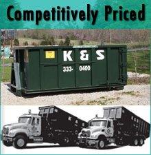 Waste Removal Service - Bloomington, IN - K & S Rolloff