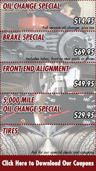 Coupons | Saint Clair Shores, MI | Champs Auto Service | 586-552-1455
