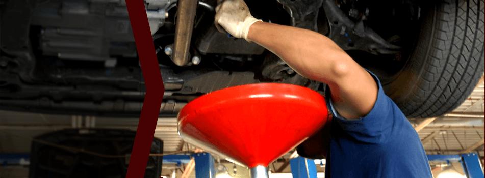 Car oil change