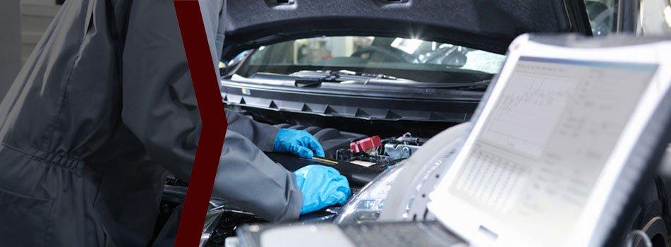 Automotive sanding car bumper