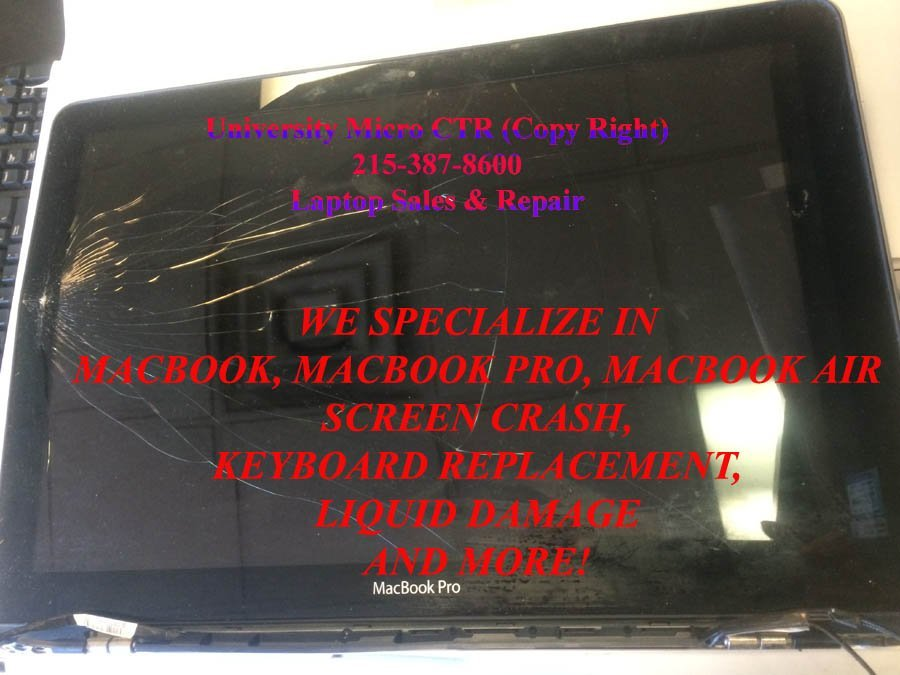 Macbook Screen Crash