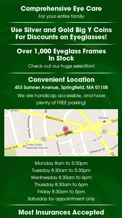 Eye Doctors - Springfield, MA - Forest Park Eye Care