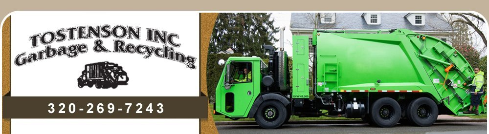 Garbage Removal Services - Montevideo, MN - Tostenson Inc.