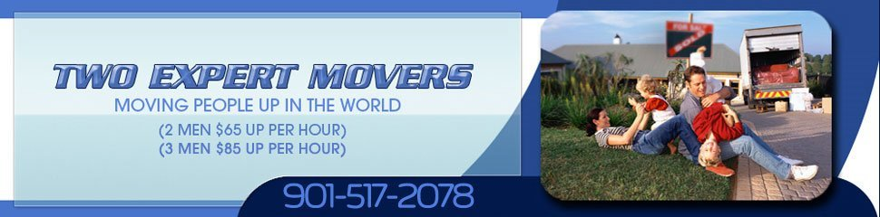 Memphis, TN Movers Two Expert Movers