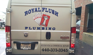 Plumber and client talking