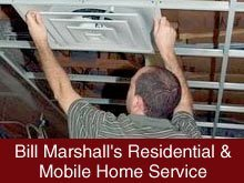 Heating and Air Conditioning - Michigan Center, MI - ill Marshall's Residential & Mobile Home Service