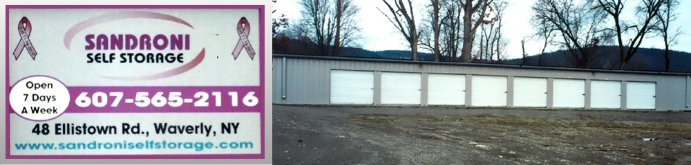 Storage Company - Waverly, NY - Sandroni Self Storage