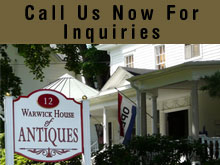 Antiques - Warwick, NY - The Warwick House Of Antiques - Antique phone and Music Box - Call Us Now For Inquiries