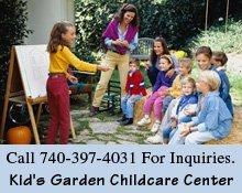 Day Care - Mount Vernon, OH - Kid's Garden Childcare Center