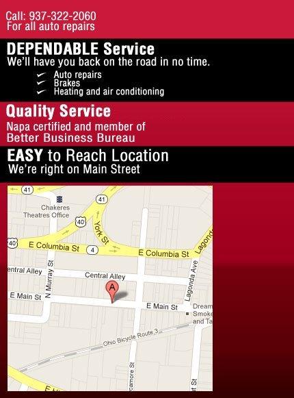Springfield, OH - S & J Auto Repair - Auto Mechanic