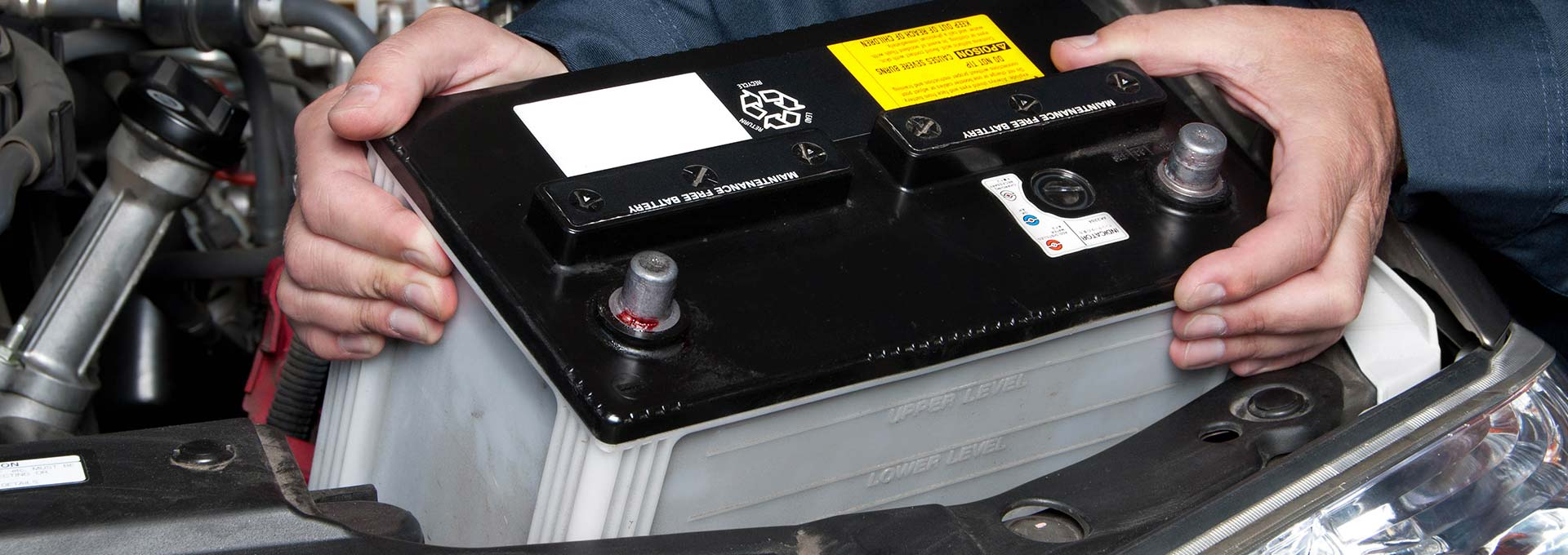 Battery replacing