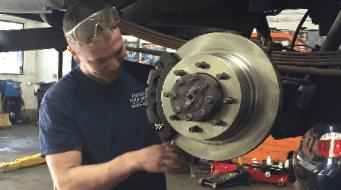Brake repairing