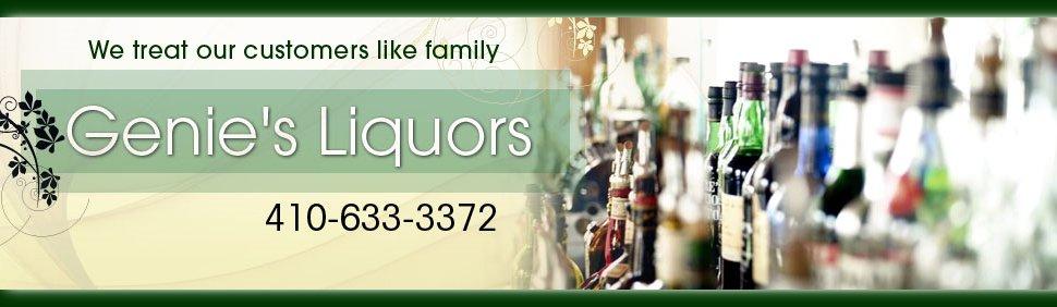 Liquor Store - Genie's Liquors - Baltimore, MD