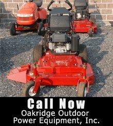 Power Equipment Service - Odenville, AL - Oakridge Outdoor Power Equipment, Inc - Mowers