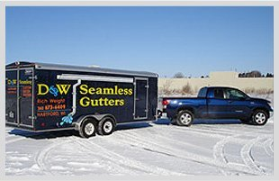Leaf guard systems   Hartford, WI   D & W Seamless Gutters   262-673-6409