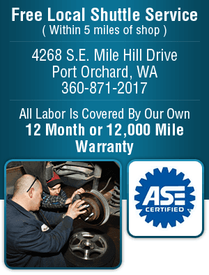Brake Repair - Port Orchard, WA - Nowka's Automotive Inc.