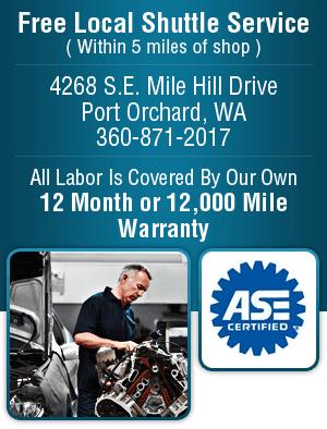 Car Repair - Port Orchard, WA - Nowka's Automotive Inc.