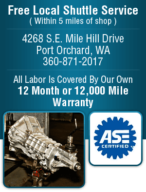 Transmission Repair - Port Orchard, WA - Nowka's Automotive Inc.