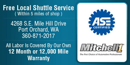 Port Orchard, WA - Auto Repair - Nowka's Automotive Inc.