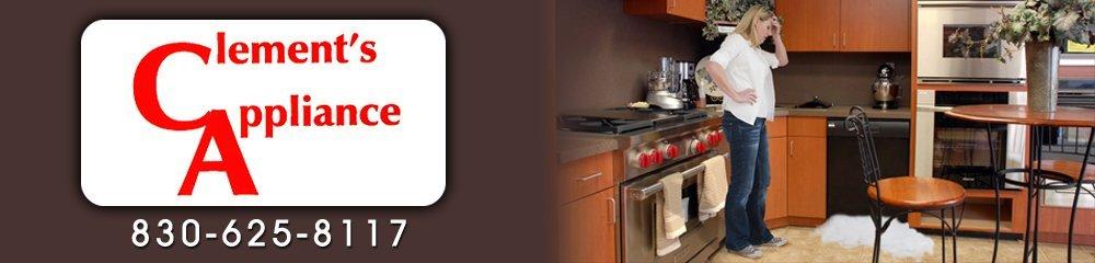 Appliance Services - New Braunfels, TX - Clement's Appliance