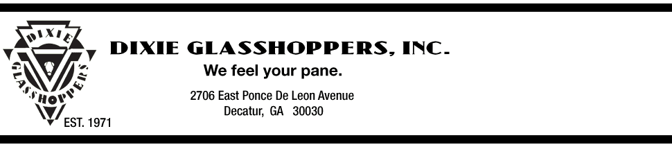 Dixie Glasshoppers, Inc. - Custom Glass and Mirrors  - Decatur, GA