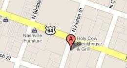 Holy Cow 101 E. Washington St.. Nashville, IN