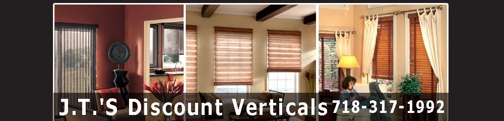 Window Blinds - Staten Island, NY - JT's Discount Verticals