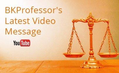 BKProfessor's latest video message