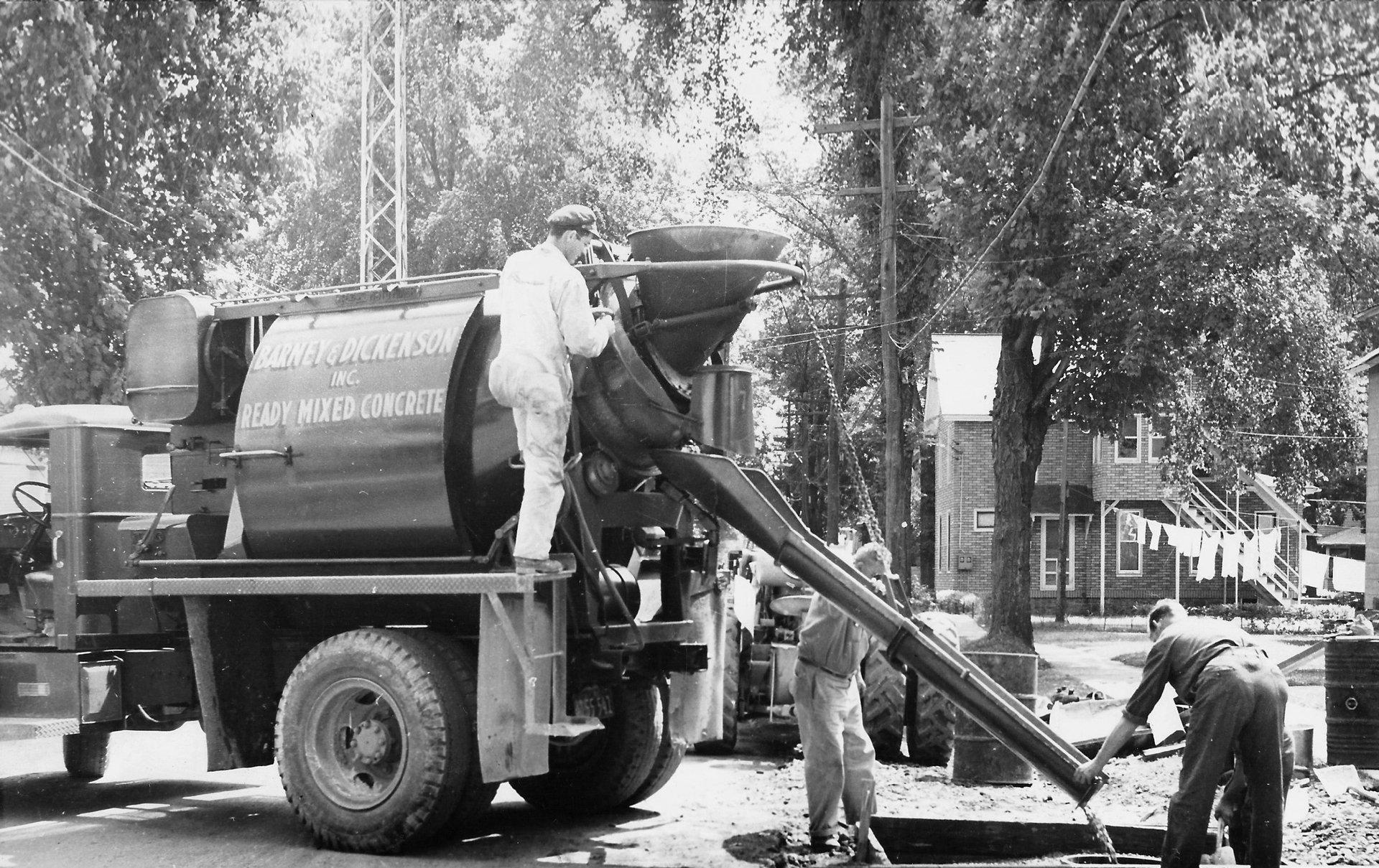 Barney & Dickenson Inc vehicle