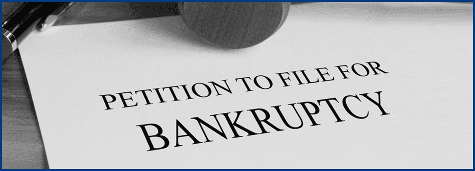 Petition for bankruptcy papers
