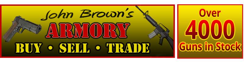 Gun Sales | Rochestor, PA | John Brown's Armory | 724-728-4444