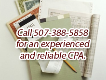 Tax Preparation Services - Mankato, MN - Andring Collins Norman & Co Chtd - Paperworks - Call 507-388-5858 for an experienced and reliable CPA