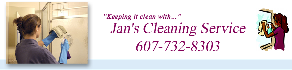 Cleaning Service Elmira Heights, NY - Jan's Cleaning Service