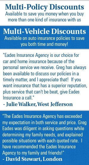 Life Insurance Sales - London, OH - Eades Insurance Agency