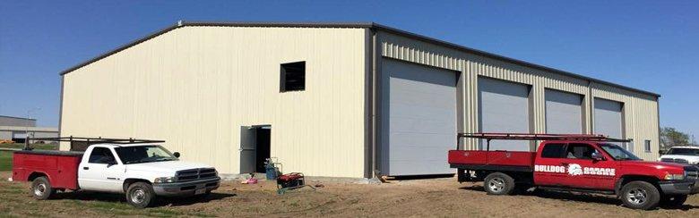 Garage door operating