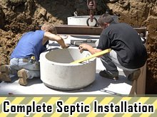Excavating Services - Manawa, WI - S & S Excavating LLC - Complete Septic Installation