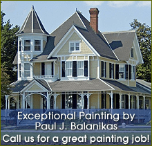 Painter - Red Bank Area, NJ - Exceptional Painting by Paul J. Balanikas